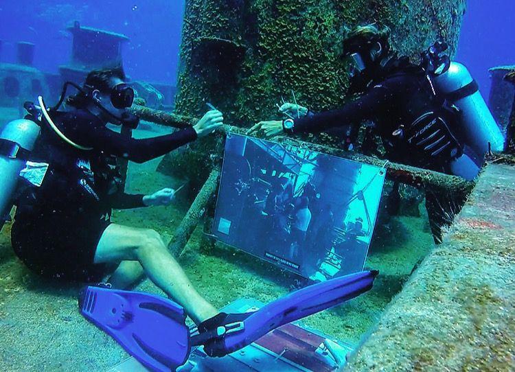 Kittiwake 5th Anniversary of the Sinking Celebratory Underwater Museum
