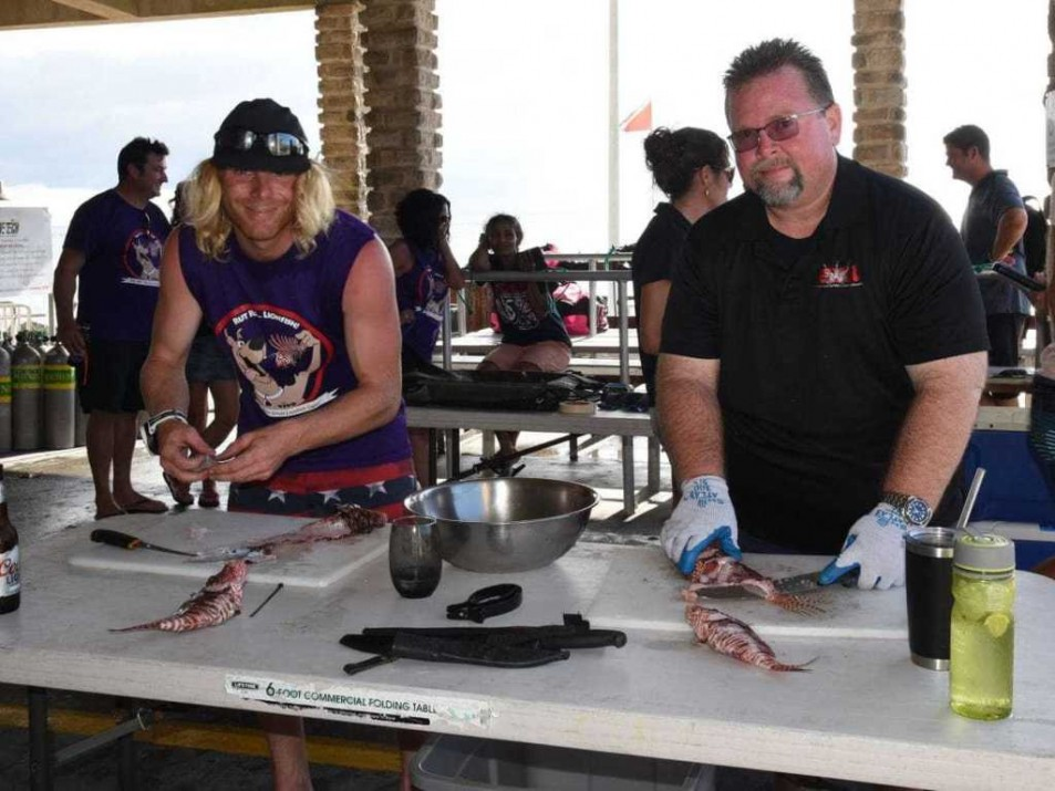 Cullers needed for next lionfish tournament
