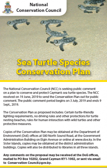 Species Conservation Plan Proposals
