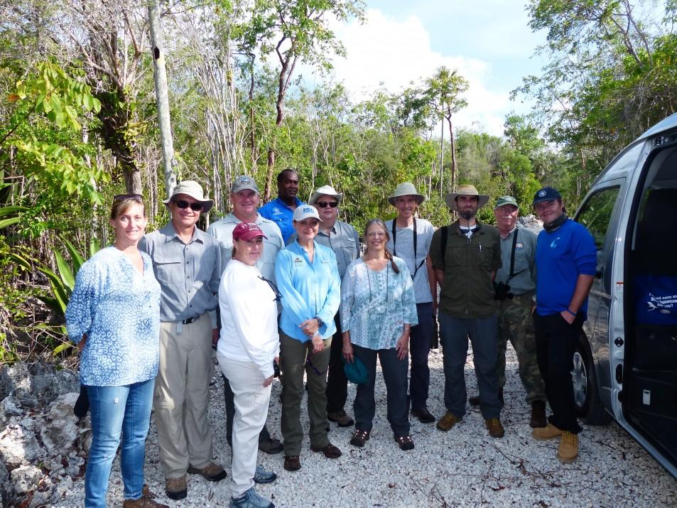 National Trust Conservation Planning Workshop Brings  Blue Iguana Programme Partners Together