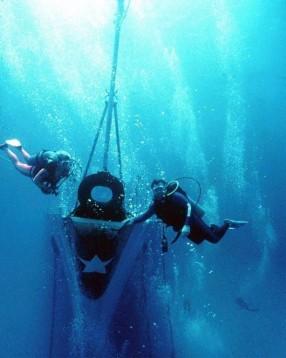 Diving on MV Capt Keith Tibbetts, Cayman Brac