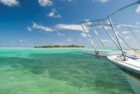 View of Owen Island, Little Cayman