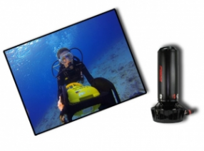Diving on a DPV with Divetech, Grand Cayman